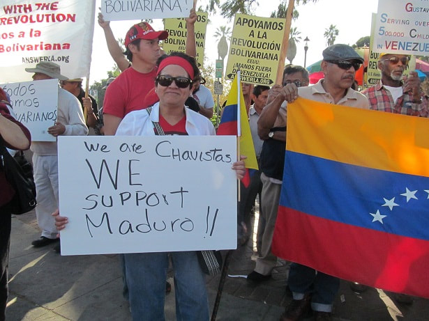 Venezuelan Democratcy Under CIA Attack - JUSTICE GAZETTE